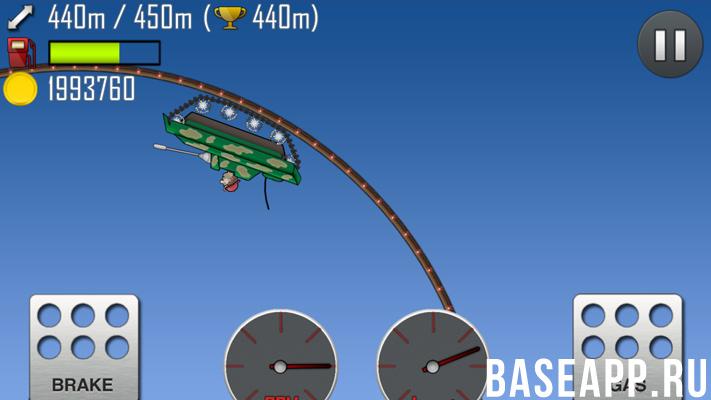 Hill Climb Racing: игровой процесс
