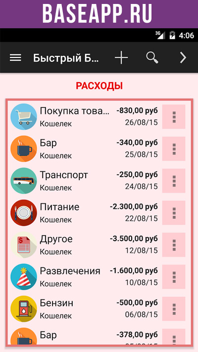 Менеджер Расходов