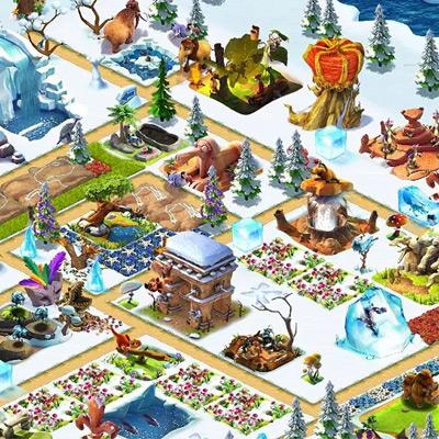 Деревушка Ледниковый Период Android