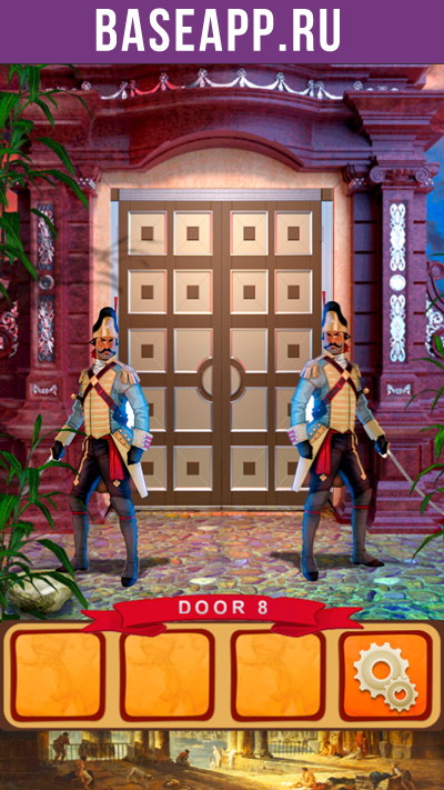 100 дверей мир истории: дверь #8 - охрана с мечами