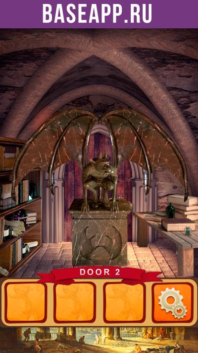 100 дверей мир истории 2: дверь #2 - гаргулия
